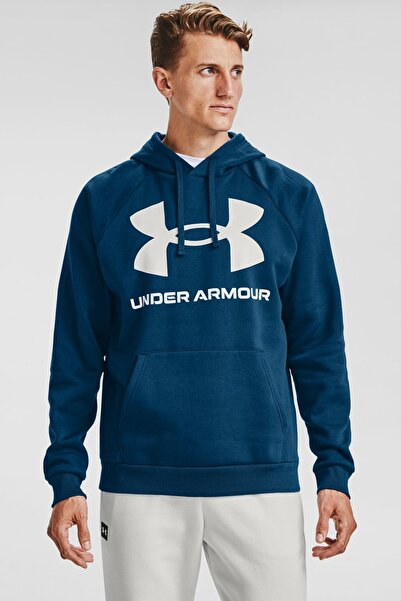 Under Armour Erkek Spor Sweatshirt - Ua Rival Fleece Big Logo Hd - 1357093-581