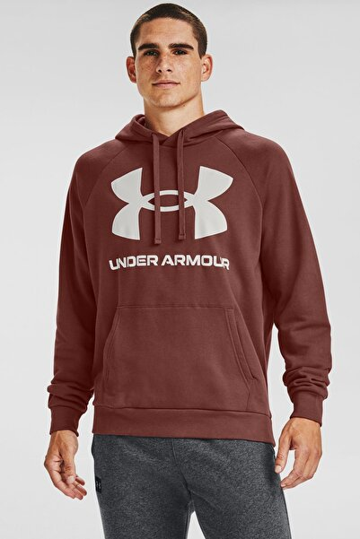 Under Armour Erkek Spor Sweatshirt - Ua Rival Fleece Big Logo Hd - 1357093-688