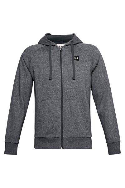 Under Armour Erkek Spor Sweatshirt - Ua Rival Fleece Fz Hoodie - 1357111-012