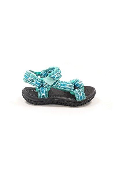 TEVA Unisex Çocuk Yeşil Sandalet 5383