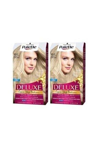 SCHWARZKOPF HAIR MASCARA Palette Deluxe10-1 Küllü Açık Sarı X 2 Saç Boyası 50 Ml