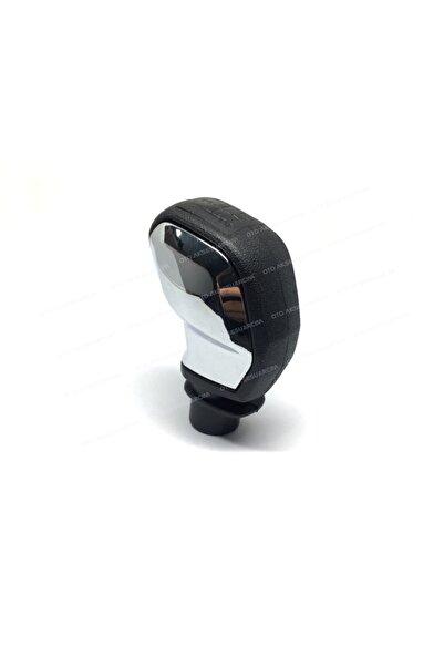 Oto Aksesuarcım Peugeot 206-207-307-308 Sportif Vites Topuzu Siyah Krom 714886401