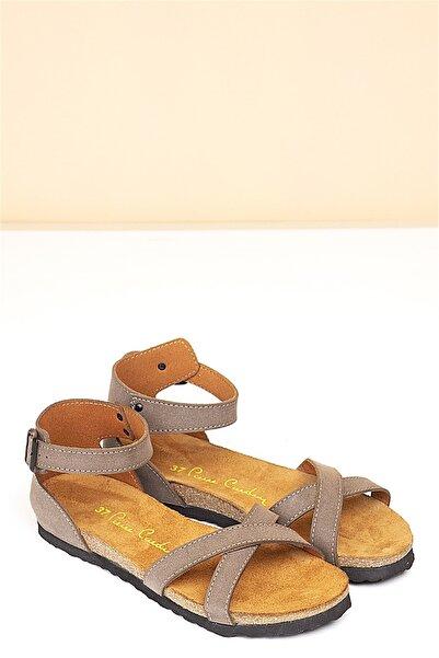 Pierre Cardin Kadın Kum Günlük Sandalet Pc-5081
