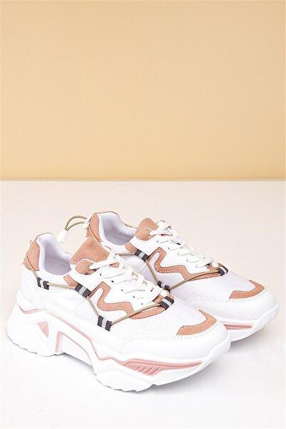 Pierre Cardin Kadın Beyaz Günlük Spor Ayakkabı Pc-30193