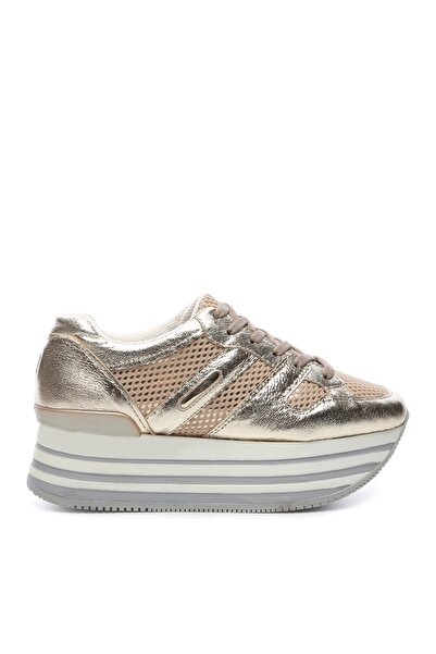 KEMAL TANCA Altın Kadın Casual Ayakkabı