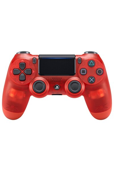 OEM Kırmızı  Ps4 Dualshock 4 V2 Ps4 Ve Pc Uyumlu Saydam Gamepad