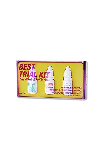 Missha Kuru Ve Hassas Ciltler İçin Mini Set (3x10ml) A'pıeu Best Trial Kit 8809643529464
