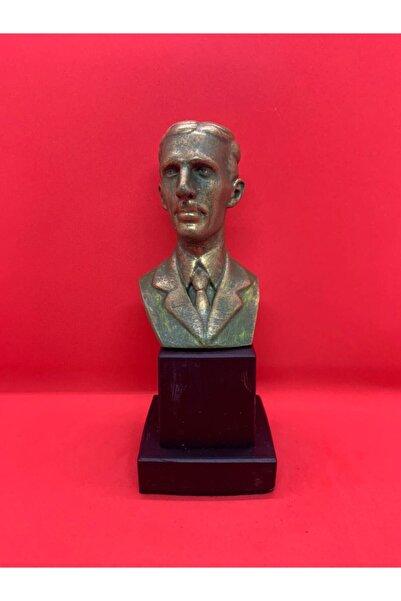 BüstBütün Tasarım Dekorasyon Nikola Tesla Heykel Büst Biblo Hediyelik Eşya