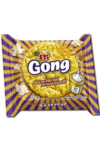 Eti Gong Ballı Hardallı 34gr X 18 Adet