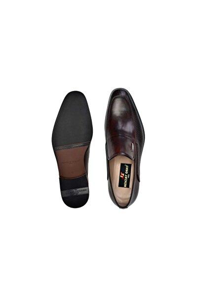 Nevzat Onay Hakiki Deri Kahverengi Günlük Loafer Neolit Erkek Ayakkabı -11156-