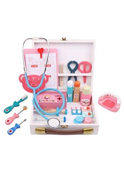 BİLMİŞ ÇOCUK Montessori Oyuncak Ahşap Mıknatıslı Çocuk Doktor Setı