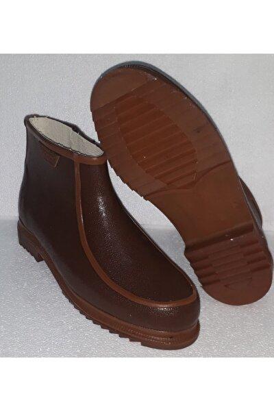 Derby Erkek Kahverengi Kısa Çizme