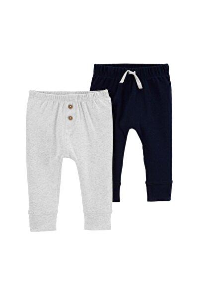 Carter's Erkek Bebek Lacivert Düz Pantolon 2'li