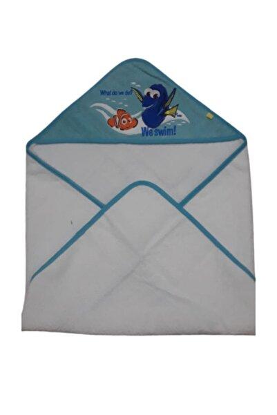 MOTHERCARE Kısayol - Nemo Bebek Banyo Havlusu 75x75
