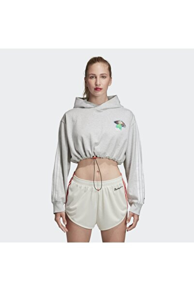 adidas Fiorucci Bayan Kısa Kapüşonlü Sweatshirt Ec5758