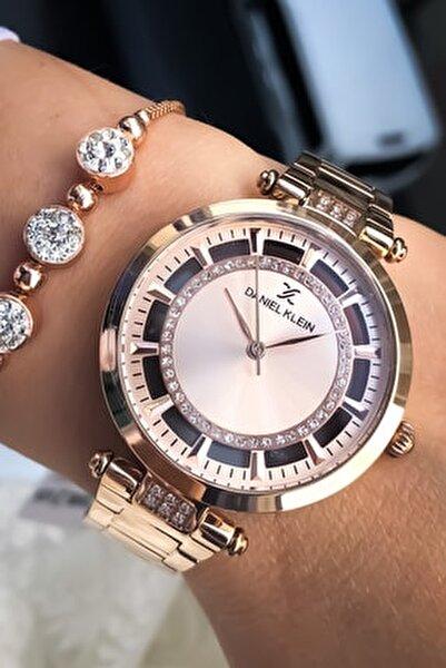 Kadın Kol Saati+bileklik Hediye