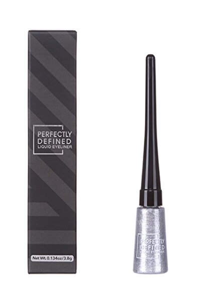 Miniso Perfectly Defined Gleaming Liquid Eyeliner (01 Silver White) 4713361490095
