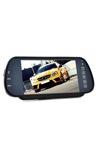 Universal 7 Inç Ekranlı Full Hd Geri Görüş Kamera Ekranı Ayna Tip