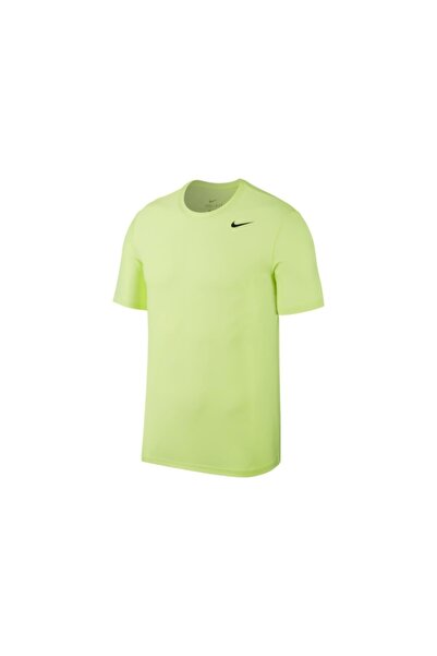 Nike Erkek Sarı Tişört -Mens Breathe Top Dry 832864-703