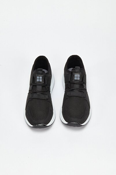 Avva Erkek Siyah Spor Ayakkabı A02Y8014