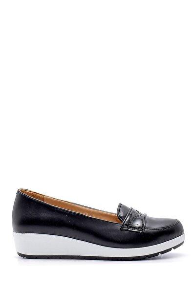 Derimod Kadın Siyah Yüksek Tabanlı Ayakkabı