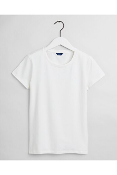 Gant Kadın Beyaz T-shirt