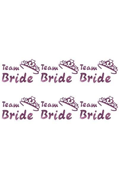 Kullan At Market Team Bride Taçlı Dövme Rose Gold 6'lı