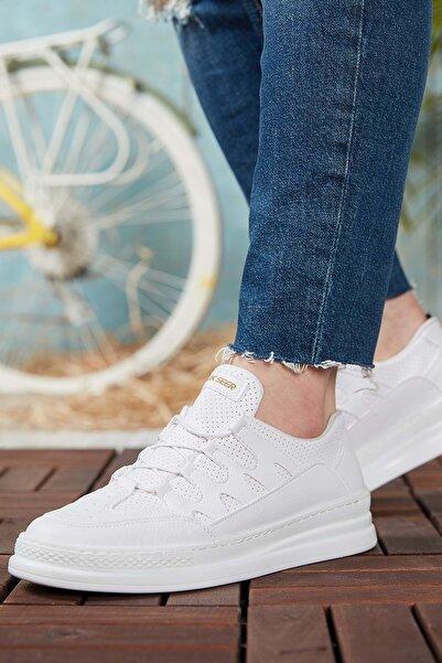 DARK SEER Beyaz Erkek Günlük Ayakkabı