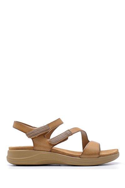 Derimod Kadın Kahverengi Sandalet