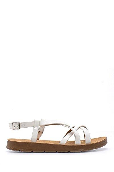 Derimod Kadın Beyaz Sandalet