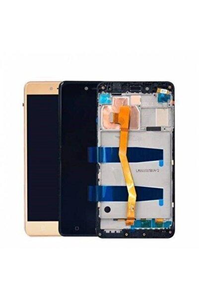LENOVO K6 Note Lcd Ekran Dokunmatik Öncam Çıtalı