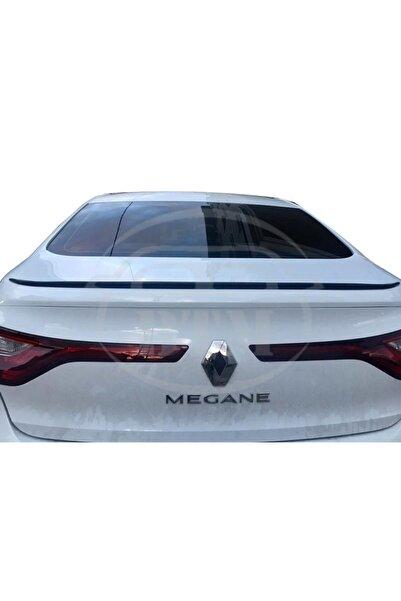 BTM OTOMOTİV Renault Megane 4 Sedan Bagaj Üstü Spoiler Piano Black