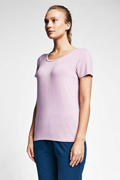 Lescon Kadın  Pembe T-shirt 20s-2205-20b