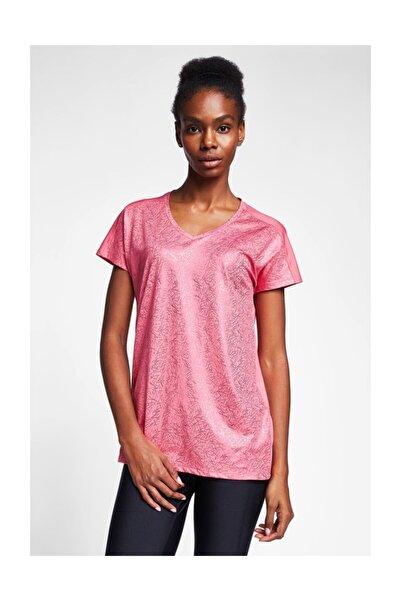 Lescon Kadın Pembe T-shirt 20b-2023