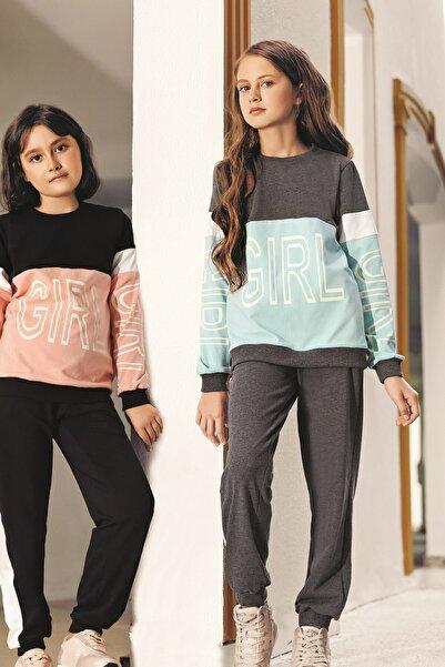 Lohusa Sepeti Kız Çocuk Girl Pijama Takımı  0030