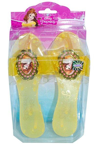 Bella Unisex Sarı Disney Belle Terlik 18,5 cm