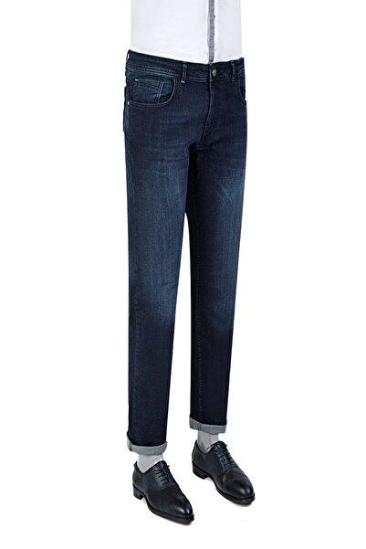 D'S Damat Erkek Lacivert DS DAMAT DENIM PANTOLON (Slim Fit) 3HCJ33003029D_101