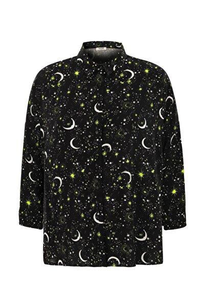 Mudo Kadın Multi Renk Baskılı Gömlek 1220395