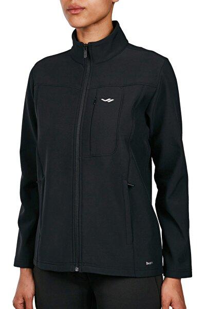 Lescon Kadın Siyah Fermuarlı Sweatshirt 18k-2057