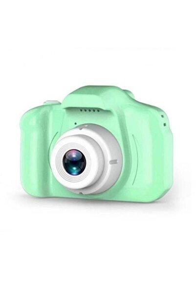 SHAKA Yeşil Çocuklar Için Mini Hd 1080 P Dijital Fotoğraf Makinası Cmr9