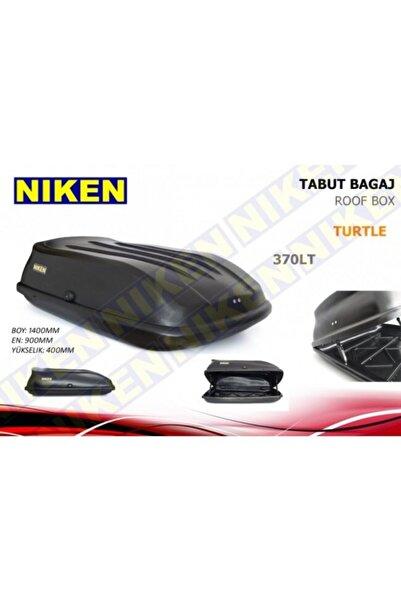 Niken Peugeot Partner Tepe Araç Üstü Port Bagaj Tabut Bagaj 370 Litre Siyah Renk