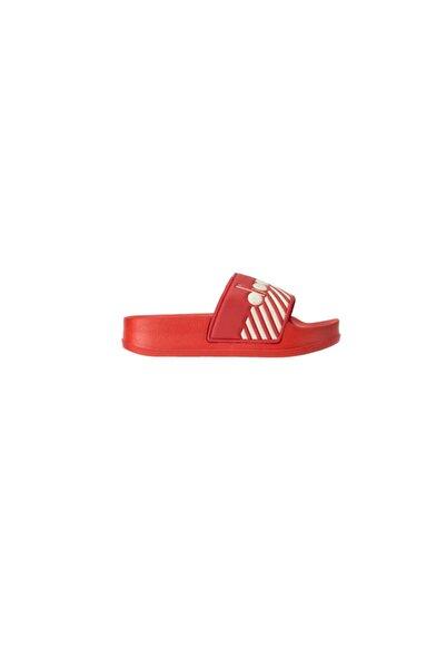Diadora Kadın Kırmızı Serifos Wide Barra Terlik