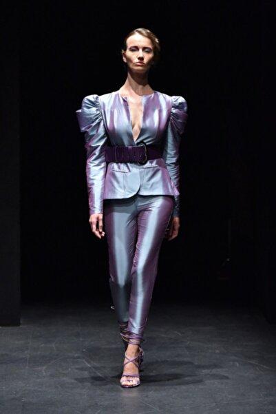 MERT ERKAN Kadın Lila Takım Elbise