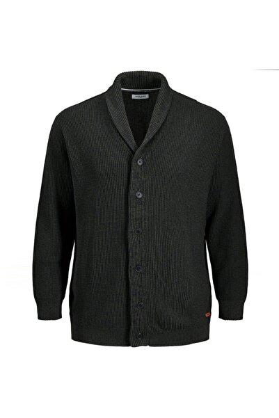 Jack & Jones Erkek Haki Ince Knit Cardian Ceket (12174797-fn)