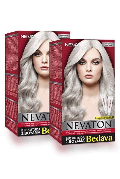 Neva Color Nevaton Ikili Set Saç Boyası Gümüş Rüya 2 Kutu