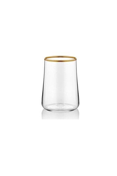 Koleksiyon1 Parlak Altın Koleksiyon Aheste 6'lı Kahve Yanı Su Bardağı