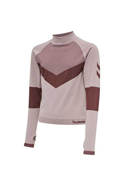 HUMMEL Kız Çocuk Bej Kith Seamless  T-shirt 207612-3691