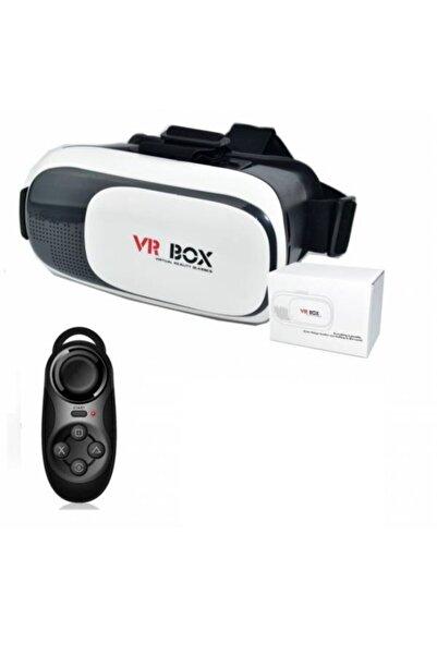 VR BOX Sanal Gereklik Gözlüğü Vr Kumanda Seti