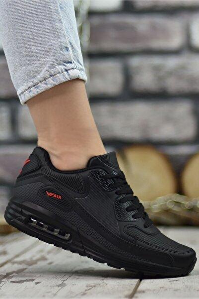 Riccon Unisex Siyah Sneaker