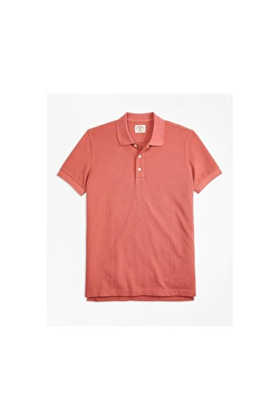 BROOKS BROTHERS Erkek Turuncu Polo Yaka T-shirt 1-00088203